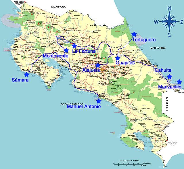 Costa Rica Abreise Und Sammlungen Pixeldschungel